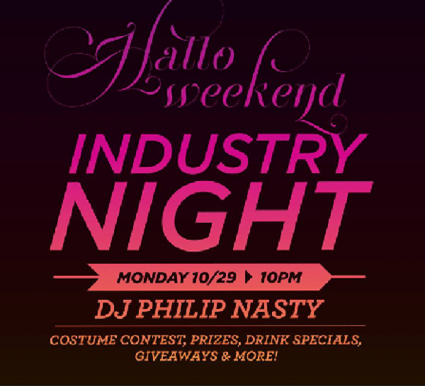 Halloween parties in Hoboken, Halloween parties in Jersey City, Halloweek, Service Industry, Industry Nights in Jersey City, Industry Nights in Hoboken, Industry Chick
